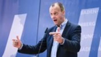 Friedrich Merz: Kramp-Karrenbauer hat unser aller Unterstützung verdient