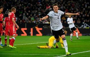 Deutschland schlägt Weißrussland und qualifiziert sich für die EM
