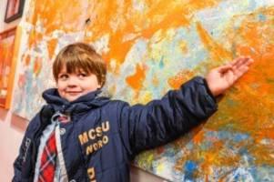 Kunstmarkt: Genies mit bunten Händen – die besten Kindergemälde Berlins