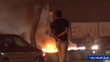 Justiz warnt «Unruhestifter»: Breite Proteste im Iran gegen Benzinrationierung