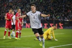 EM-Quallifikation: Ginter ist einer der Garanten für Deutschlands 4:0-Sieg