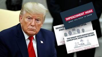 Verfahren gegen Donald Trump: Der Sumpf will einen Medienzirkus: Weißes Haus veröffentlicht skurriles Erklärvideo zum Impeachment