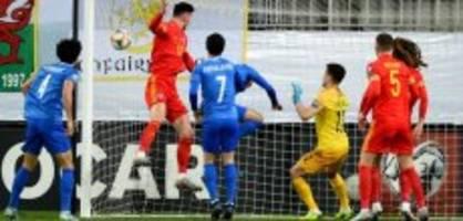 EM-Qualifikation: Wales darf auf EM-Teilnahme hoffen