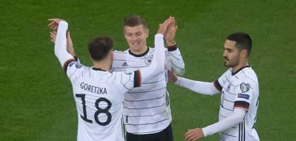 Deutschland besiegt Weißrussland und qualifiziert sich für die EM