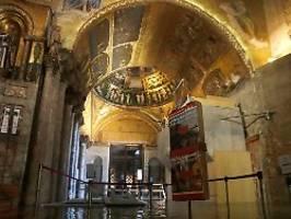 Meerwasser zerfrisst Mosaik: Venezianer bangen um ihre Kunstschätze