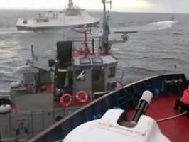 Vorfall in Meerenge von Kertsch: Russland übergibt beschlagnahmte Schiffe
