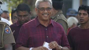 Gotabhaya Rajapaksa: Sri Lanka: Ex-Verteidigungsminister wird neuer Präsident