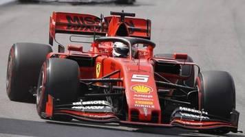 GP in Brasilien: Ferrari-Desaster: Vettel im 100. Ferrari-Rennen raus