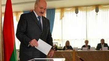 Weißrussland wählt ein neues Parlament