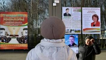 Parlamentswahl ohne Oppositionskandidaten in Weißrussland