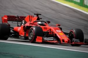 Formel 1: Debakel für Ferrari beim Formel-1-Rennen in Brasilien