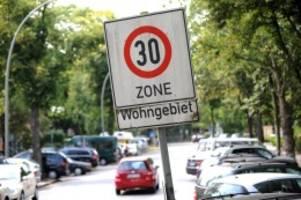 SPD-Initiative: Bekommt Hamburg 200 neue Tempo-30-Strecken?