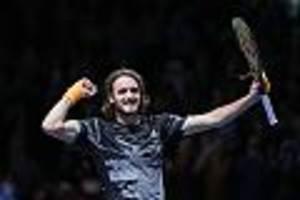 ATP Finals - Drama im Tie-Break: Tsitsipas gewinnt das Finale gegen Thiem