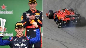 Formel 1 in Brasilien: Drama bei Ferrari, Chaos bei Mercedes – das vermutlich kurioseste Rennen des Jahres