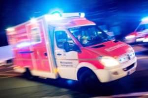 unfälle: fußgänger angefahren und lebensgefährlich verletzt