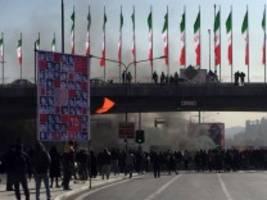 amnesty international: berichte über mehr als 100 tote in iran