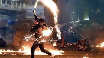 gewalteskalation: proteste in hongkong: warum die losung ein land - zwei systeme eine farce ist