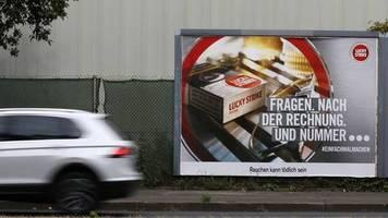 Einziges EU-Land mit Tabakwerbung: Werbeverbot fürs Rauchen in Deutschland: Ärzte fordern eine Entscheidung