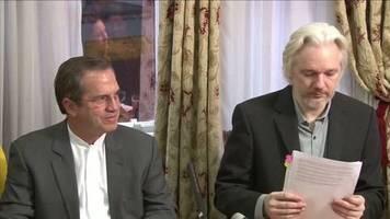 Video: Schweden stellt Vergewaltigungsermittlungen gegen Assange ein