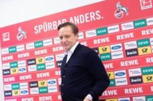 Fußball: Sportchef Heldt: Köln-Rückkehr war schon mehrfach ein Thema
