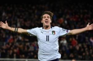 Zehn Spiele, zehn Siege: Italien feiert EM-Ticket mit 9:1-Sieg