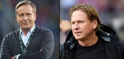 1. FC Köln holt Markus Gisdol und Horst Heldt als Manager