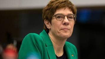 """""""Das war grundlegend falsch"""": Kramp-Karrenbauer spricht über die größten Fehler als CDU-Chefin"""