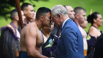 Royale Reise: Charles und Camilla zu Besuch in Neuseeland