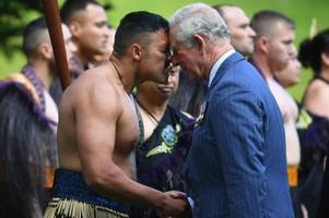 Charles und Camilla zu Besuch in Neuseeland
