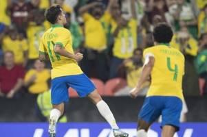 Coutinho mit starker Leistung und Tor im Selecao-Trikot