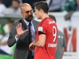 FC Bayern: Lewandowski schwärmt von Pep Guardiola