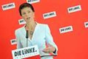 insa-umfrage - merkel fällt auf platz zwei: sahra wagenknecht erstmals beliebteste politikerin