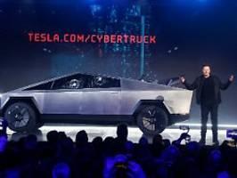 Teslas erster Elektro-Pickup: Musk enthüllt futuristischen Cybertruck