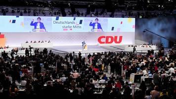 CDU-Parteitag: Hier und jetzt und heute: Kramp-Karrenbauer stellt die Machtfrage in der CDU