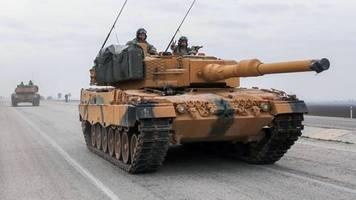Fragen an die Türkei: «Leopard 2»-Panzer in der Hand syrischer Rebellen?