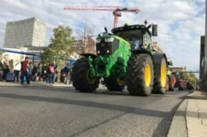 traktoren-sternfahrt: bauern wollen erneut verkehr in berlin lahmlegen