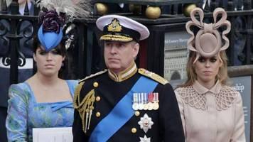 Nach dem Interview ihres Vaters: Diese Folgen hat der Eklat um Prinz Andrew für Eugenie und Beatrice
