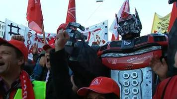 Video: Wandel in der Autoindustrie: IG Metall will kein Tafelsilber preisgeben