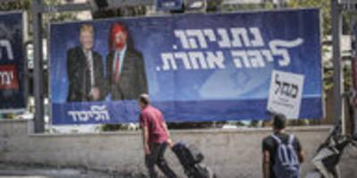 politische krise in israel: bibi hat beef