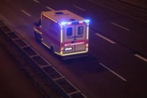 unfälle: unfall mit rettungswagen in hagenow