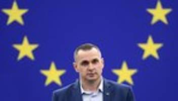 EU-Parlament: Sacharow-Preisträger Oleg Senzow warnt vor Wladimir Putin