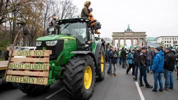 """Bauern-Demo in Berlin: Wir wollen das Agrargesetz wieder auf Null setzen"""""""