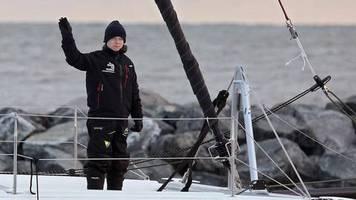 Atlantik-Überquerung: Fünf Tage vor der Klimakonferenz: Wo steckt eigentlich Greta Thunberg?