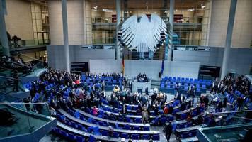 konfrontation im parlament: generaldebatte zum kurs der großen koalition