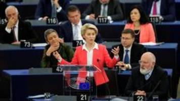Von der Leyens EU-Kurs: Keine Angst, selbstbewusst zu sein
