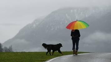 Das Wetter in Bayern: Regen und Schnee am Wochenende