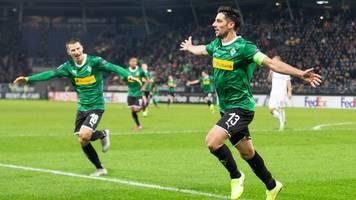 Sieg beim Wolfsberger AC - Mr. Europa League Stindl rettet Gladbach das 1:0