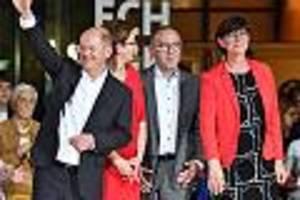 Margarete van Ackerens Berliner Woche - Droht nach SPD-Wahl wirklich das Groko-Aus? Selbst linkes Duo bekommt Muffensausen
