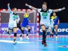 DHB-Frauen feiern WM-Auftaktsieg