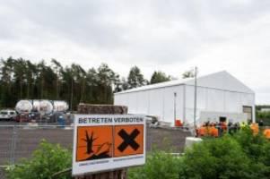 Umwelt: Chemiewaffenreste: über 10 000 Granaten vermutet